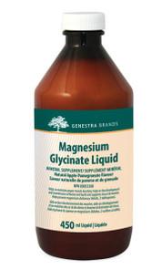Genestra Magnesium Glycinate Liquid Natural Apple-Pomegranate Flavour 450 ml | 883196144808