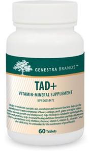 Genestra TAD+ 60 Tablets | 883196114214