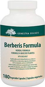 Genestra Berberis Formula 180 Caps | 883196139804