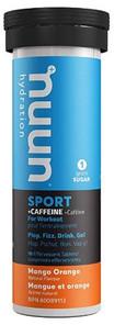Nuun Hydration Sport +Caffeine Mango Orange 10 Tablets | 811660021317