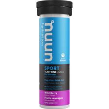 Nuun Hydration Sport +Caffeine Wild Berry 10 Tablets (8 x 52g box)   811660021294