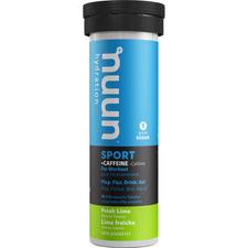 Nuun Hydration Sport +Caffeine Fresh Lime 10 Tablets (55g) | 811660021300