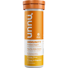 Nuun Hydration Immunity Orange Citrus 10 Tablets (8 x 52g)   811660022512, 811660022499