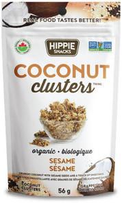 Hippie Snacks Coconut Clusters - Sesame 56 g |625691120006
