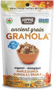 Hippie Snacks Oat Free Granola Organic Maple Quinoa 160g |625691103047