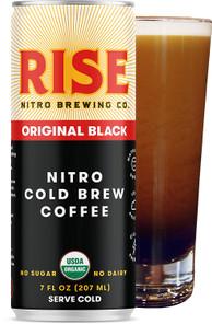 Rise Brewing Co. Nitro Cold Brew Coffee - Black 2.7 ml | 864421000359