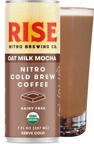 Rise Brewing Co. Nitro Cold Brew Coffee - Oat Milk Mocha Latte 207 ml | 868235000482