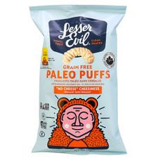 Lesser Evil Grain Free Paleo Puffs - No Cheese Cheesiness 140 g   855469006700