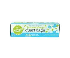 Natural Value Bags - Reclosable Quart Storage 24 ct | 706173020110