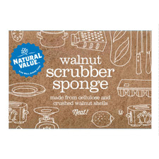 Natural Value Walnut Scrubber Sponge 1 ct | 706173100218
