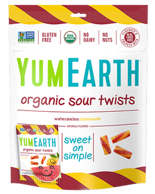 YumEarth Vegan Sour Twists 100 g | 810165018624