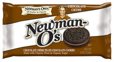 Newman's Own Chocolate Creme Filled Chocolate Cookie 226 g | 757645021623