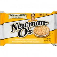 Newman's Own Vanilla Creme Filled Vanilla Cookie 226 g | 757645021722