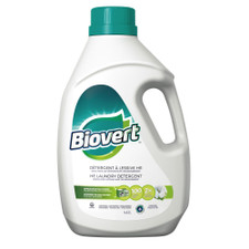 Biovert Laundry Detergent HE - Fresh Cotton Scent 4.43 L | 776622011099