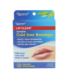 Quantum Lip Clear Cold Sore Bandage - 12 Bandages | 046985016766