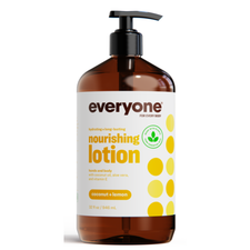 EO Products Everyone Soap Hydrating Nourishing Lotion Hands & Body - Coconut + Lemon 946mLl | 636874220291