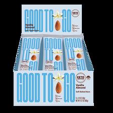 Good To Go Vanilla Almond Keto Bars 9 x 40 g | 687456113180