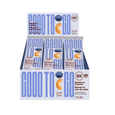 Good To Go Blueberry Cashew Keto Bars 9 x 40g Box | 687456111636