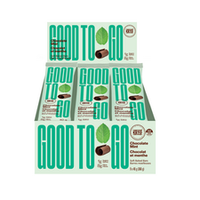 Good To Go Chocolate Mint Keto Bars 9 x 40g |  687456111612