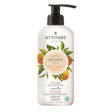 Attitude Super Leaves Hand Soap Orange Leaves 473 ml   626232140989