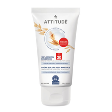 Attitude SPF 30 100% Mineral Sunscreen Adult Sensitive Skin 150g | 626232160055