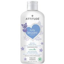 Attitude Baby Leaves Good Night Bubble Wash Almond Milk 473 ml   626232183139