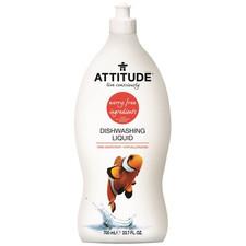 Attitude Dishwashing Liquid Pink Grapefruit 700 ml | 626232131765