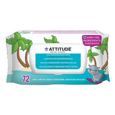 Attitude Little Ones 100% Biodegradable Wipes 72 Count | 626232170009