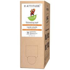 Attitude Nature+ Dishwashing Liquid Citrus Zest 4 L |  626232831726
