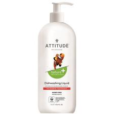 Attitude Nature+ Dishwashing Liquid Pink Grapefruit 1 L | 626232131864