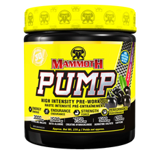 Mammoth Pump 270g (30 Serve) - Black Cherry | 625486103931