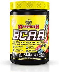 Mammoth BCAA 520g (40 Serve) - Super Fruit | 625486103733