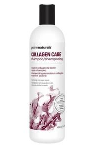 Prairie Naturals Collagen Care Shampoo - Marine collagen & Biotin Repair 500mL | 067953011446