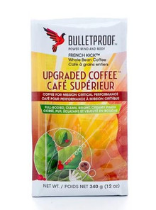 Bulletproof French Kick Upgraded Whole Bean Coffee 340g | 815709021641
