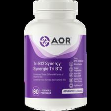 AOR Tri B12 Synergy 5mg 60 Lozenges | 624917044126