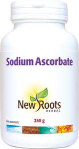 New Roots Herbal Sodium Ascorbate Powder 250g   628747008709