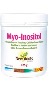 New Roots Herbal Myo-Inositol Powder 125g | 628747022088