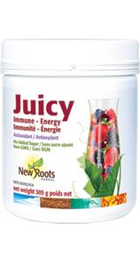 New Roots Herbal Juicy Immune - Energy 305g   628747015110