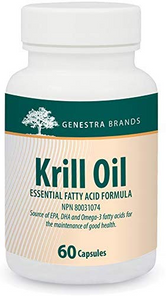 Genestra Krill Oil - Essential Fatty Acid Formula 60 Capsules | 883196126224