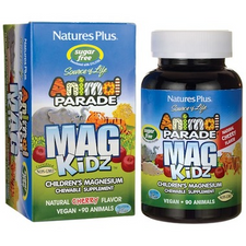 Nature's Plus Animal Parade Mag Kidz Chewables - Natural Cherry Flavour 90 Animal Tablets | 097467299429