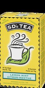 Platinum Naturals SD's Tea Lemon Mint 30 Tea Bags | 773726990022