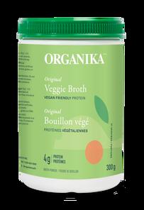 Organika Veggie Broth - Vegan Friendly Protein Powder Original 300g | 620365030421