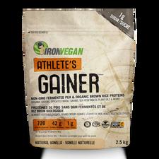 Iron Vegan Athlete's Gainer Natural Vanilla 2.5kg | 837229007905