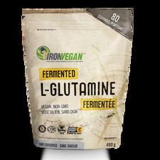 Iron Vegan Fermented L-Glutamine Powder Unflavoured 400g | 837229007400