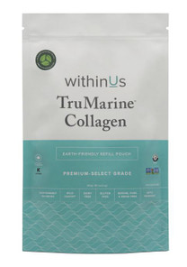 withinUs TruMarine Collagen 80-Serving Compostable Pouch 400g | 628504021996