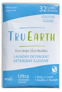 Tru Earth Eco-Strips Laundry Detergent Fresh Linen 32 Loads | 899962000001