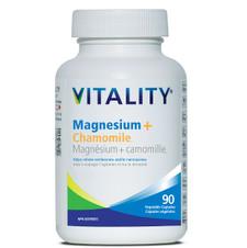 Vitality Magnesium + Chamomile 90 Veg Capsules | 062044185396
