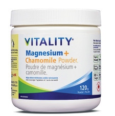 Vitality Magnesium + Chamomile Powder 120g | 062044185440