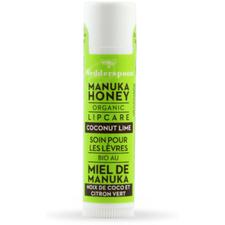 Wedderspoon Organic Manuka Lip Balm 4.5g Coconut Lime | 10814422021096