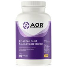 AOR P.E.A.K Pain Relief 120 Capsules  